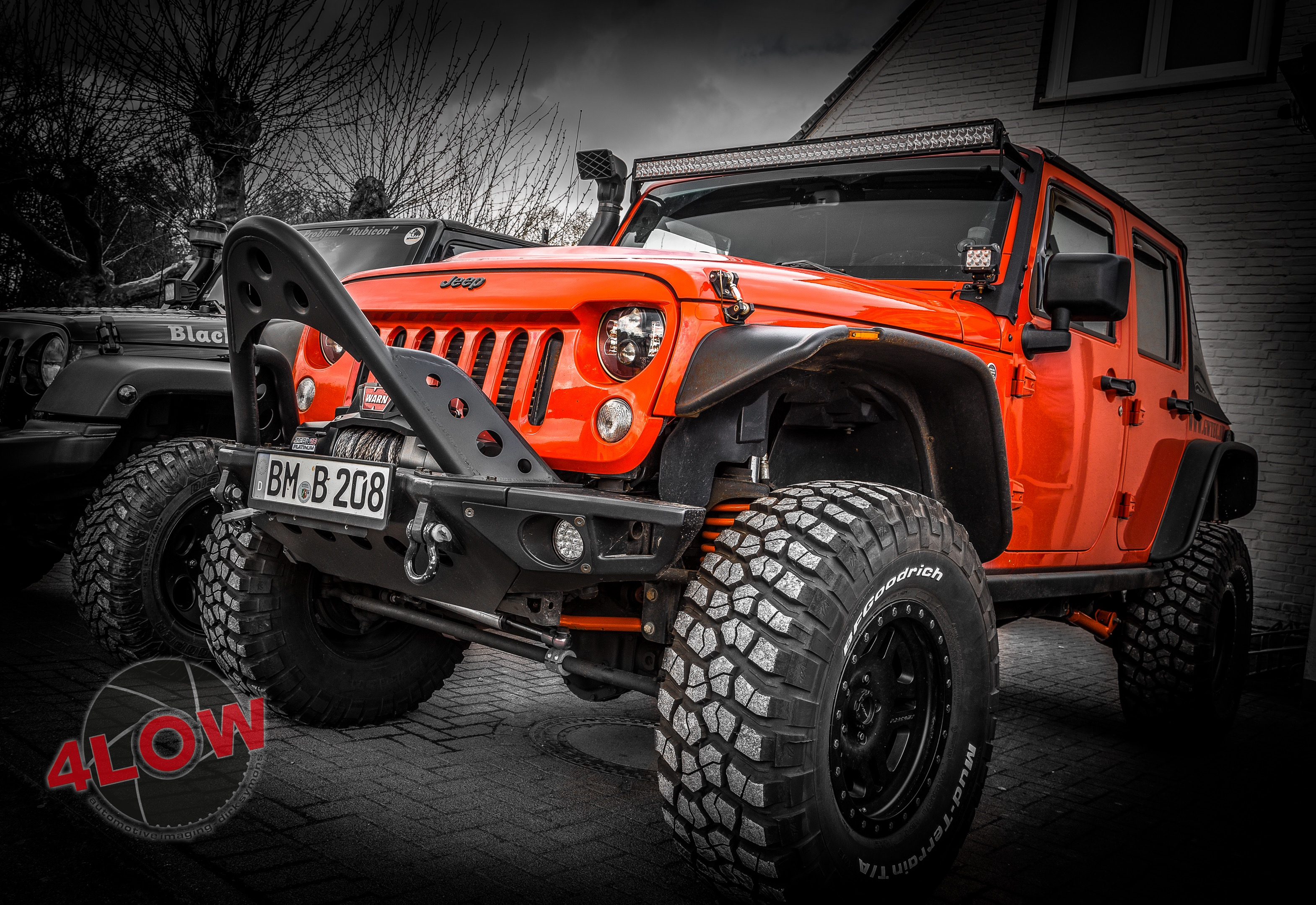 Jeep Wrangler JK Unlimited Rubicon Long Arm Umbau - by GWTec